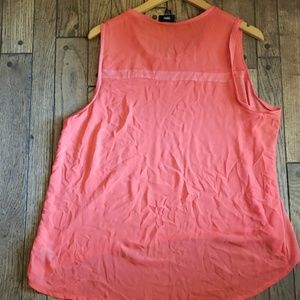 Mossimo Supply Co. Tops - Mossimo hi low Coral tunic